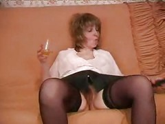 Russian, Mature, Mature russian slut dp