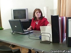 Office, Mature, Lesbian pantyhose office