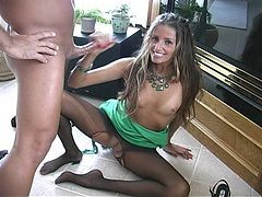 Black, Handjob, Panties, Footjob, Pantyhose, Latina footjob
