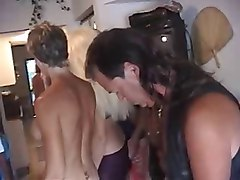 Couple, Party, Mature orgy sex party