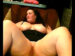 Girlfriend, Fat, Filming my friends wife playing with her pussy