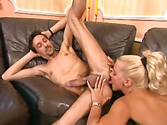 Anal, Casting, German, Sexy blond german anal