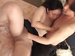 Japanese mother and som temptation part