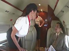 Bus, Stewardess, Japan air stewardess