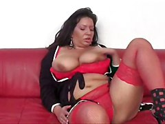 Stockings, Milf, Nicky ferrari mom red milf production
