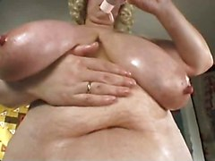 Chubby, Young big tits solo