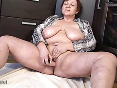 Kitchen, Sleeping mom mature porn