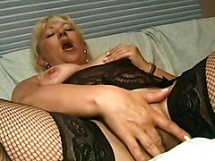 Anal, Blonde, Milf, First time homade anal painful