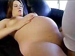 Pregnant sister sucks brothers cock