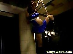 Asian, Bondage, Extreme solo asian