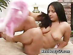 Latina, Asian moms tits