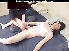 Ladyboy, Shemale, Tricked by a tranny