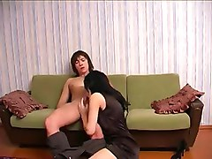 Amateur, Swallow, Russian, Real amateur mom and daughter