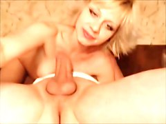 Anal, Couple, Big Cock, Milf slave by master