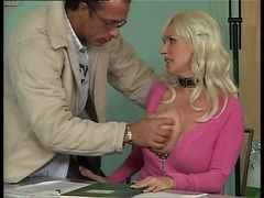 Bus, Office, German, Mature, Office anal fuck