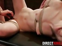 Slave, Kinky hot japanese maid gets her pussy fucked hard