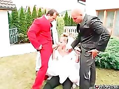 Wedding, Bride gangbanged by 11 men