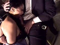 Asian, Secretary, Germany secretary suck her boss