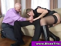 Bisexual, Threesome, Bisexual surprise