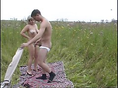 Amateur, Russian, Outdoor, Mom and boy mature japan