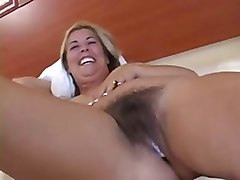 Hairy, Interracial, Creampie, Milf, Hairy milf stockings pussy