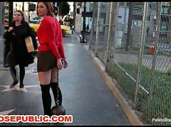 Group, Public, Slave, Humiliation, Outdoor, Bbc slave
