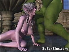 3D, 3d monster fucking contest