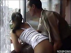 Japanese father sons wife