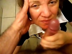 Bath, Bathroom, Hairy mature handjobs