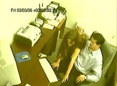 Office, Caught, Office spanking