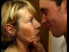 Anal, French, Mom, Mature, Mother son anal
