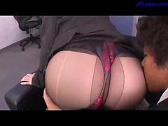 Panties, Office, Pantyhose, Toys, Lesbians in pantyhose