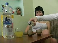Drunk, Russian, Drunk russian girl