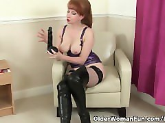 British, Black, Milf, Dildo, Red milf productions rachel steele son daughter