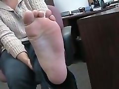 Mature feet foot