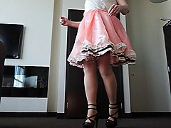 Dress, Sissy cock training compilation