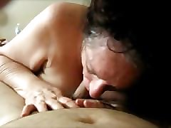 Amateur, Swallow, Awesome pov blowjob and hardcore anal sex for