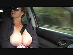 Granny, Outdoor, Interracial outdoor