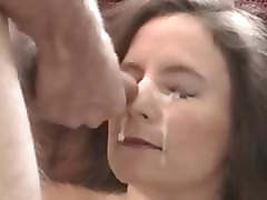 Amateur, Facial, Milf, Asian milf facial