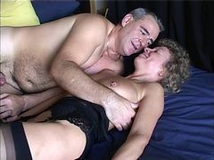 British, Mature, British mature mother seduces