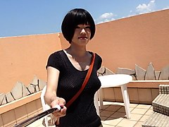 Crossdresser, Dress, Cute teen girl gangbanged