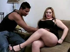 Bbw, Big Cock, Tiny asian girl with a big cock