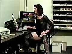 Hairy, Secretary, Man seducing the new secretary