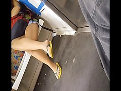 Teen, Train, Squirt in face
