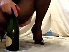 Anal, Bottle, Shower, Bottle anal first time