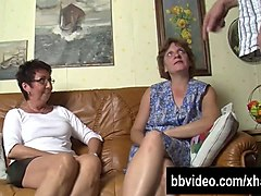 Bisexual, German, Milf, Threesome, Bisexual couple