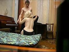 Mother son daughter internal anal creampie