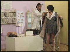 Doctor, Hungarian, Milf, Pregnant, Mommy talks dirty to her son