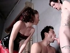 Slave, Bound slave blowjob