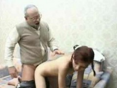 Grandpa, Teen, Teen get fucked by her grandpa